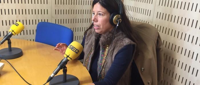 Celia Rimada, entrevistada en Cadena Ser Gijón